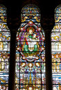 Free Virgin Mary Stained Glass Stock Photo - 1100860