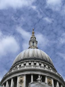 Free St Paul Cathedral In London Royalty Free Stock Photography - 1101047
