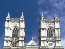 Free Westminster Abbey Towers Royalty Free Stock Photos - 1101058