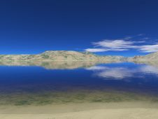 Free Clear River Royalty Free Stock Photo - 1101795