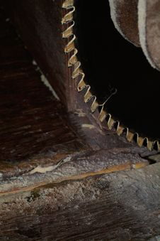 Free Detail Of Circular Saw Stock Images - 1102314