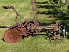 Free Farming Equipment,old,antique Royalty Free Stock Photography - 1102577