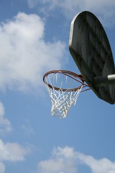 Free Basket Ball Hoop Royalty Free Stock Images - 1103259