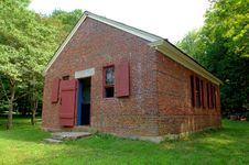 Free Little Red School House Stock Photography - 1103612