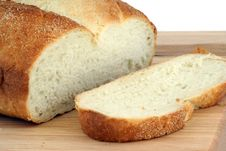 Free Bread On Cutting Board Stock Images - 1103914