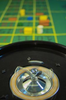 Free Casino Roulette Royalty Free Stock Photography - 1104387