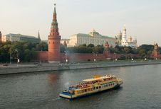 Free Moscow Kremlin Royalty Free Stock Image - 1104396