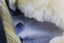 Free Frozen Waterfall Stock Images - 1105634