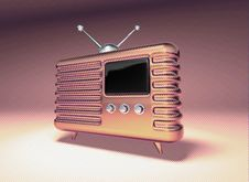 Free Retro Radio Royalty Free Stock Photos - 1106078