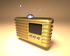 Free Retro Radio Stock Photography - 1106112