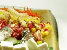 Free Exotic Salad Royalty Free Stock Photo - 1106355