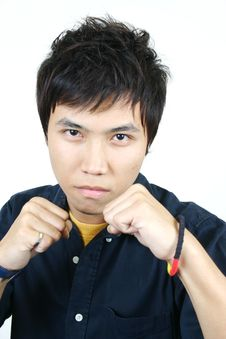 Free Cool Young Asian Guy Stock Photos - 1107853