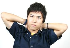 Free Cool Young Asian Guy Royalty Free Stock Images - 1107899