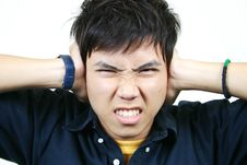 Free Cool Young Asian Guy Stock Image - 1107901