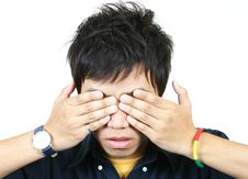 Free Cool Young Asian Guy Royalty Free Stock Photography - 1107907