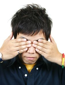 Free Cool Young Asian Guy Royalty Free Stock Photos - 1107928