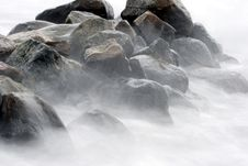 Free Ocean Stones Royalty Free Stock Photography - 1108337