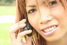 Free Asian Girl Royalty Free Stock Photo - 1109025