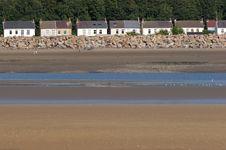Free Flood Defences Stock Image - 1109171