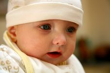 Free Closeup Baby Royalty Free Stock Images - 1109459