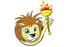 Free Winning Lion Royalty Free Stock Photography - 1109977