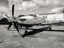 Free Grayscale Photo Of Fighter Plane Stock Photo - 110046950