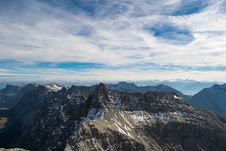 Free Aerial Photography Of Mountains Stock Photography - 110046972