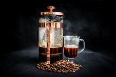Free Photo Of Coffee Warmer Pump Jar Filled With Coffee Stock Photo - 110047040