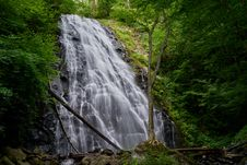 Free Waterfalls In Between Green Trees Stock Photos - 110047043