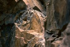 Free Close-up Photo Brown Brown Rock Formation Royalty Free Stock Images - 110174359