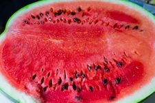 Free Close-up Photo Of Sliced Watermelon Royalty Free Stock Photo - 110174475