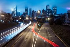 Free Photography Of Light Streaks Royalty Free Stock Image - 110248466