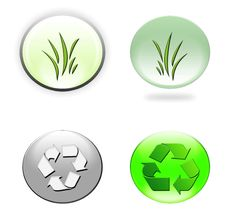 Free Environmental Icons Stock Images - 11030584