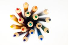 Free Shallow Focus Photography Of Color Pencil Lot Royalty Free Stock Image - 110418116