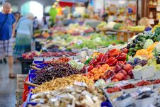 Free Vegetables Stall Stock Images - 110501004