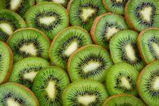Free Sliced Kiwi Fruits Stock Photo - 110501020