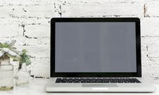 Free Laptop Computer Stock Photography - 110501032
