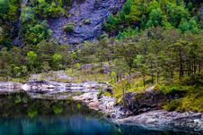 Free Landscape Photography Of Lake And Trees Royalty Free Stock Image - 110501066