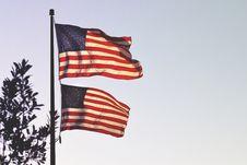 Free Flag Of America Stock Image - 110501091