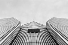 Free Low Angle View Of High Rise Building Stock Image - 110535301