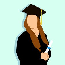 Free Mortarboard, Academic Dress, Academician, Hand Royalty Free Stock Images - 110550859