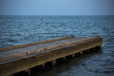 Free Sea, Horizon, Pier, Ocean Royalty Free Stock Photography - 110614787