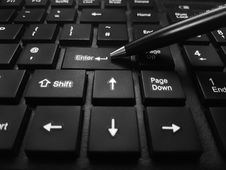 Free Computer Keyboard, Input Device, Technology, Space Bar Royalty Free Stock Images - 110615459