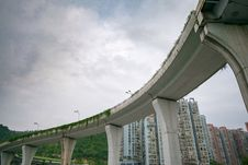 Free Bridge, Overpass, Landmark, Sky Stock Photos - 110615613