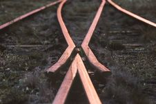 Free Selective-focus Photography Of Train Rail Royalty Free Stock Photo - 110655215