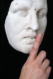 Free White Mask Royalty Free Stock Images - 11077019