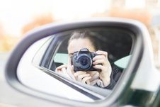 Free Close-up Photography Of Woman Taking A Photo Stock Photography - 110796342