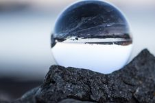 Free Round Clear Glass Ball Stock Photo - 110796380