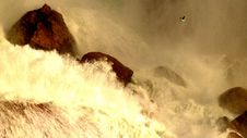 Free Photo Of Sea Waves And Rocks Stock Photography - 110885612