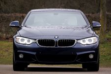 Free Blue Bmw 4-series Stock Photography - 110885652